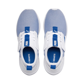 Thumbnail 6 of IGNITE Limitless SR New School Sneakers, Puma White-Strong Blue, medium