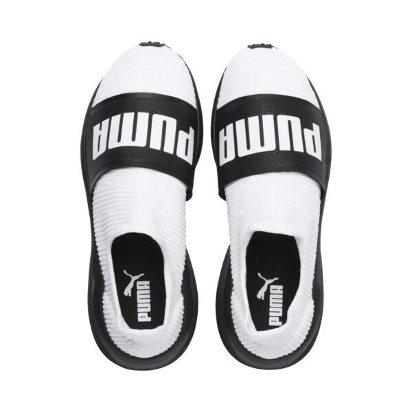 フィアース スライド ウィメンズ, Puma White-Puma Black, large-JPN