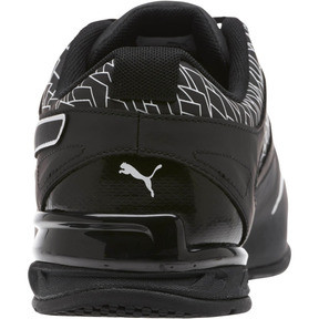 Thumbnail 4 of Tazon 6 Fracture FM Wide Men's Sneakers, Puma Black-Puma Black, medium