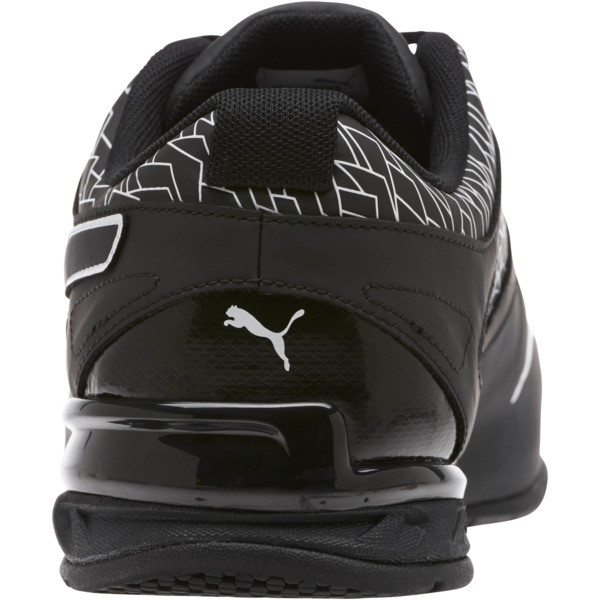 Tazon 6 Fracture FM Wide Men's Sneakers, Puma Black-Puma Black, large