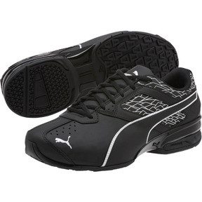 Thumbnail 2 of Tazon 6 Fracture FM Wide Men's Sneakers, Puma Black-Puma Black, medium