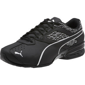 Thumbnail 1 of Tazon 6 Fracture FM Wide Men's Sneakers, Puma Black-Puma Black, medium