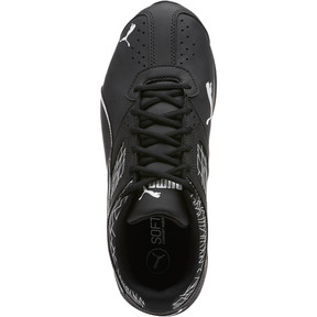 Thumbnail 5 of Tazon 6 Fracture FM Wide Men's Sneakers, Puma Black-Puma Black, medium