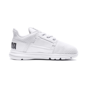 Thumbnail 5 of Enzo Street Kids' Little Kids' Shoes, White-White-Iron Gate, medium