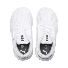 Thumbnail 6 of Enzo Street Kids' Little Kids' Shoes, White-White-Iron Gate, medium