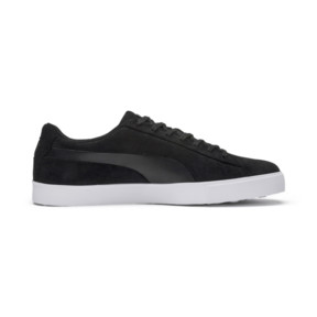 Thumbnail 5 of Suede G Men's Golf Shoes, Puma Black-Puma Black, medium
