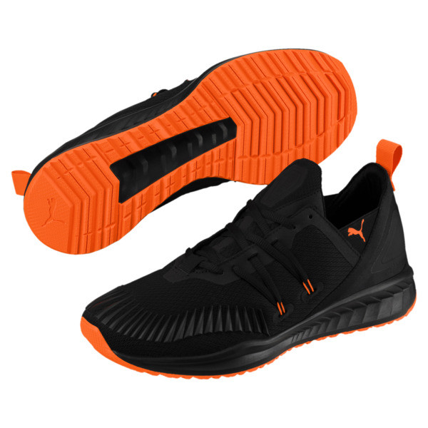 IGNITE Ronin Unrest Men's Sneakers, Puma Black-Shocking Orange, large