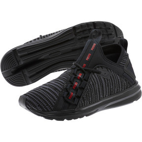 Thumbnail 2 of Enzo Peak Men's Sneakers, Black-Asphalt-High Risk Red, medium