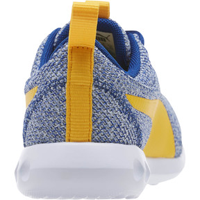 Thumbnail 4 of Carson 2 Bold Knit Sneakers JR, Sodalite Blue-Spectra Yellow, medium