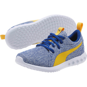 Thumbnail 2 of Carson 2 Bold Knit Sneakers JR, Sodalite Blue-Spectra Yellow, medium