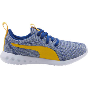 Thumbnail 3 of Carson 2 Bold Knit Sneakers JR, Sodalite Blue-Spectra Yellow, medium
