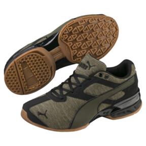 Thumbnail 2 of Tazon 6 Heather Rip Sneakers JR, Forest Night-Puma Black, medium
