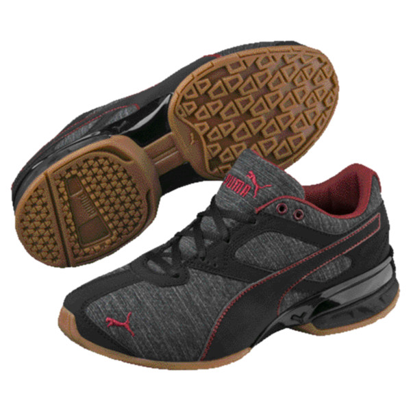 Tazon 6 Heather Rip Little Kids' Shoes, Iron Gate-Black-Pomegranate, large