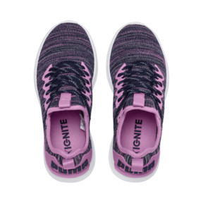 Thumbnail 6 of IGNITE Flash evoKNIT Sneakers JR, Orchid-Peacoat, medium