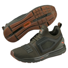Thumbnail 2 of IGNITE Limitless 2 Unrest Kids' Trainers, Forest Night-Firecracker, medium