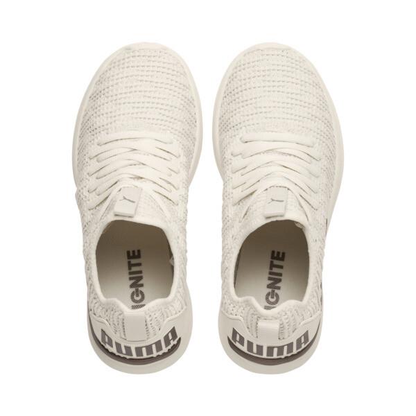IGNITE Flash Luxe Women's Running Shoes, Whisper White-Metallic Ash, large