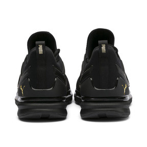 Thumbnail 3 of IGNITE Limitless 2 Running Shoes, Puma Black-Metallic Gold, medium