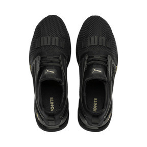 Thumbnail 6 of IGNITE Limitless 2 Running Shoes, Puma Black-Metallic Gold, medium