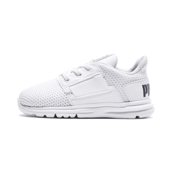 Enzo Street AC Inf Shoes, White-White-Iron Gate, large