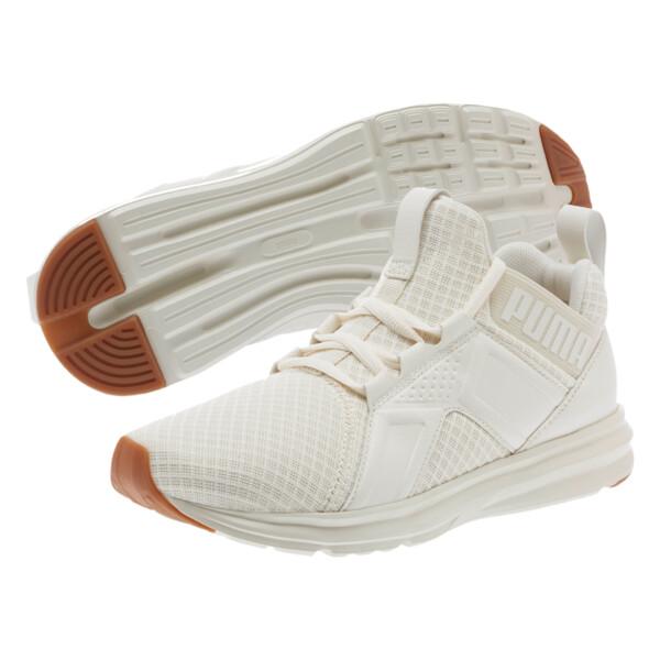Enzo Premium Mesh Women's Sneakers, Whisper White, large