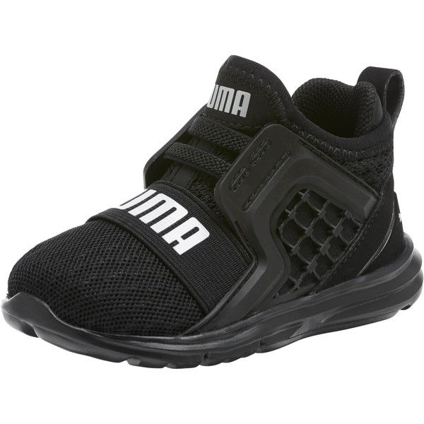 Limitless AC WIDE Infant Sneakers, Puma Black-Puma Black, large