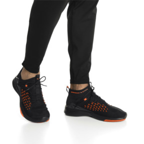Thumbnail 7 of Mantra FUSEFIT Unrest Men's Trainers, Puma Black-Firecracker, medium