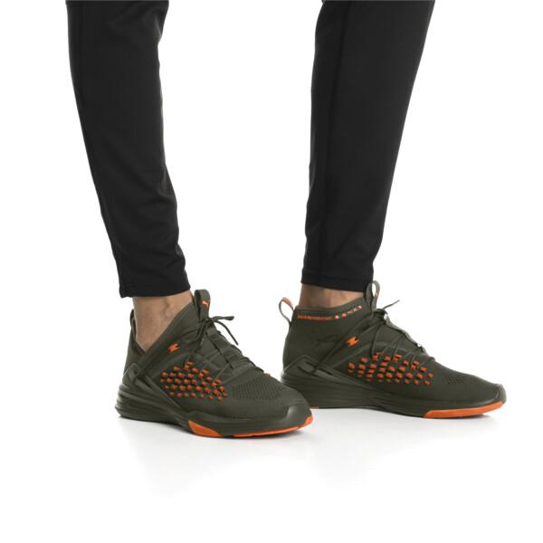 Mantra FUSEFIT Unrest Men's Sneakers, Forest Night-Firecracker, large