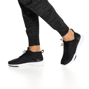 Thumbnail 3 of Mantra FUSEFIT Men's Sneakers, Puma Black-Puma White, medium