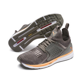 Thumbnail 2 of IGNITE Limitless 2 evoKNIT Trainers, Asphalt-Charcoal Gray-Orange, medium