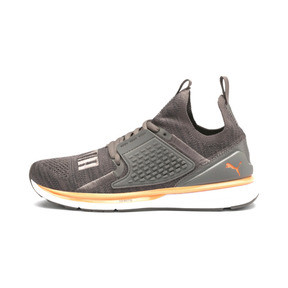 Thumbnail 1 of IGNITE Limitless 2 evoKNIT Trainers, Asphalt-Charcoal Gray-Orange, medium