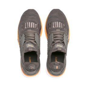Thumbnail 6 of IGNITE Limitless 2 evoKNIT Trainers, Asphalt-Charcoal Gray-Orange, medium