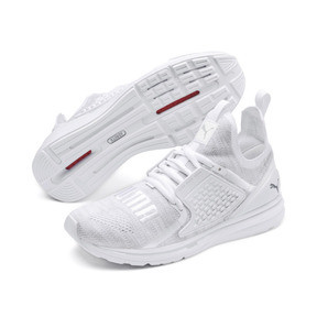 Thumbnail 2 of IGNITE Limitless 2 evoKNIT Trainers, Puma White-Quarry, medium
