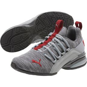 Thumbnail 2 of Axelion Training Shoes JR, Quarry-Red Dahlia, medium