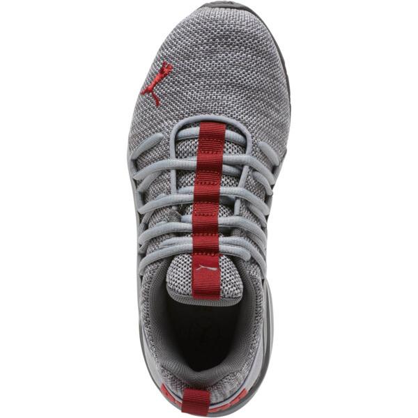Axelion Training Shoes JR, Quarry-Red Dahlia, large