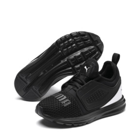Thumbnail 2 of IGNITE Limitless 2 AC PS Kids' Sneakers, Puma Black-Puma White, medium