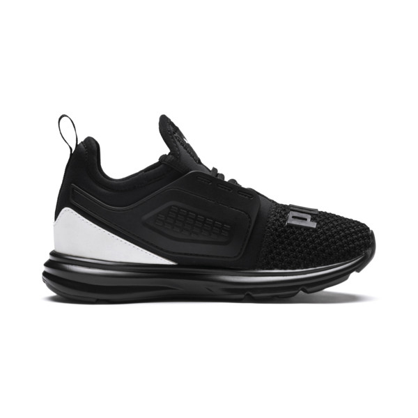 IGNITE Limitless 2 AC PS Kids' Sneakers, Puma Black-Puma White, large