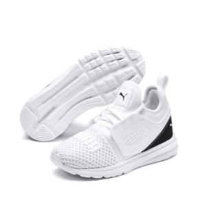 Thumbnail 2 of IGNITE Limitless 2 AC PS Kids' Sneakers, Puma White-Puma Black, medium