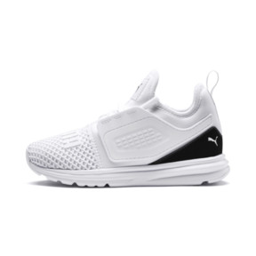 Thumbnail 1 of IGNITE Limitless 2 AC PS Kids' Sneakers, Puma White-Puma Black, medium