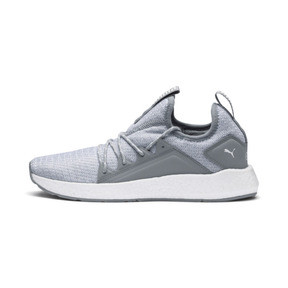 Thumbnail 1 of NRGY Neko Knit Women's Running Shoes, Quarry-Puma White, medium