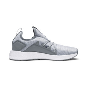 Thumbnail 5 of NRGY Neko Knit Women's Running Shoes, Quarry-Puma White, medium