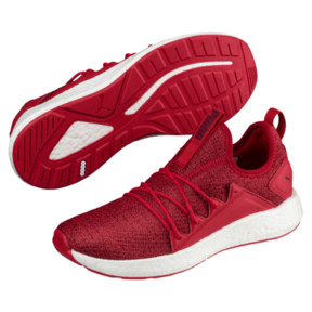 Thumbnail 2 of NRGY Neko Knit Women's Running Shoes, Ribbon Red-Pomegranate, medium