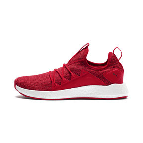 Thumbnail 1 of NRGY Neko Knit Women's Running Shoes, Ribbon Red-Pomegranate, medium