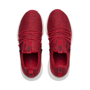 Thumbnail 6 of NRGY Neko Knit Women's Running Shoes, Ribbon Red-Pomegranate, medium