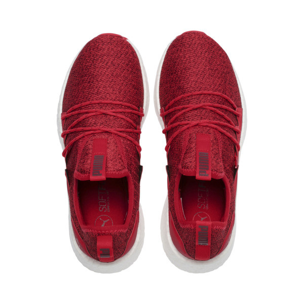 NRGY Neko Knit Women's Running Shoes, Ribbon Red-Pomegranate, large