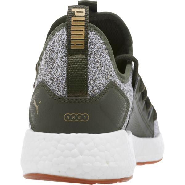 NRGY Neko Knit Women's Running Shoes, Forest Night-Puma White, large