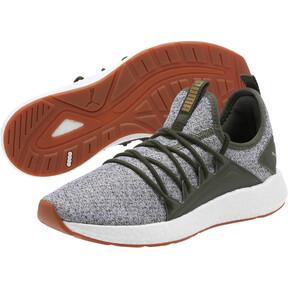 Thumbnail 2 of NRGY Neko Knit Women's Running Shoes, Forest Night-Puma White, medium