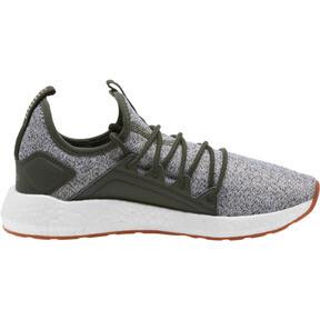 Thumbnail 3 of NRGY Neko Knit Women's Running Shoes, Forest Night-Puma White, medium