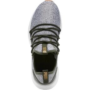 Thumbnail 5 of NRGY Neko Knit Women's Running Shoes, Forest Night-Puma White, medium