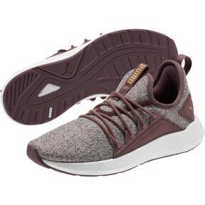 Thumbnail 2 of NRGY Neko Knit Women's Running Shoes, Ppprcrn-WisperWhite-PmaTmGld, medium
