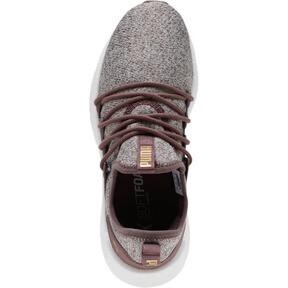 Thumbnail 5 of NRGY Neko Knit Women's Running Shoes, Ppprcrn-WisperWhite-PmaTmGld, medium